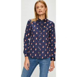 U.S. Polo - Koszula. Szare koszulki polo damskie marki U.S. Polo, m, z bawełny, casualowe, z klasycznym kołnierzykiem, z długim rękawem. W wyprzedaży za 279,90 zł.