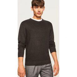 Sweter - Bordowy. Czerwone swetry klasyczne męskie marki Reserved, l. Za 119,99 zł.