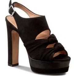 Rzymianki damskie: Sandały TWINSET – Scarpa CS7PF1 Nero 00006