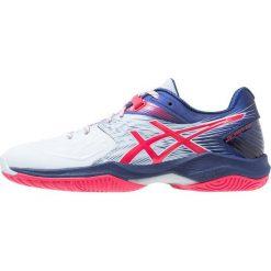 ASICS BLAST FF Obuwie do piłki ręcznej soft sky/blue. Niebieskie buty do fitnessu damskie Asics, z gumy. Za 589,00 zł.