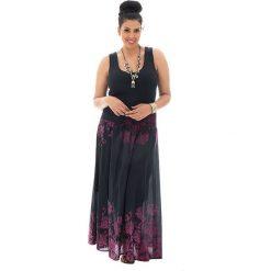 Odzież damska: Spódnica w kolorze czarno-różowym