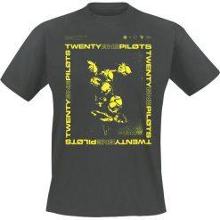 T-shirty męskie: Twenty One Pilots Wilt Box T-Shirt popielaty/czarny