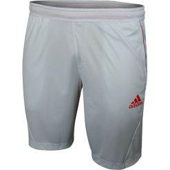 Adidas Spodenki męskie Barricade Bermuda białe r. M (W53628). Białe spodenki sportowe męskie marki Adidas, l, z jersey, do piłki nożnej. Za 49,14 zł.