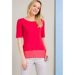 Swetry klasyczne damskie: Sweter z koszulową wstawką II