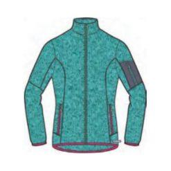 Bluzy sportowe damskie: Brugi Bluza damska 2NCY-RLN Verde Grigio r. XL