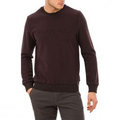 Sweter w kolorze brązowyn. Brązowe swetry klasyczne męskie marki Levi's®, l, z bawełny, z okrągłym kołnierzem. W wyprzedaży za 139,95 zł.