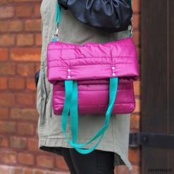 Torebka pikowana 2W1 Retro. Brązowe torebki klasyczne damskie marki Pakamera, pikowane. Za 115,00 zł.