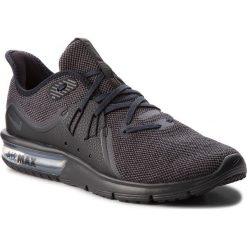 Buty do biegania męskie: Buty NIKE - Air Max Sequent 3 921694 010 Black/Anthracite