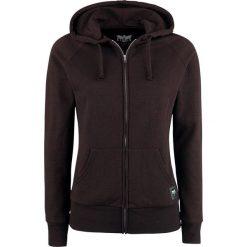 Bluzy rozpinane damskie: Black Premium by EMP Freaking Out Loud Bluza z kapturem rozpinana damska bordowy