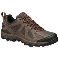 Columbia Buty Trekkingowe Peakfreak Xcrsn Ii Low Leather Outdry Cordovan Sanguine 44.5. Szare buty trekkingowe męskie marki Columbia, z dzianiny. W wyprzedaży za 399,00 zł.