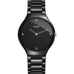 ZEGAREK RADO TRUE THINLINE. Czarne zegarki damskie RADO, ceramiczne. Za 9520,00 zł.