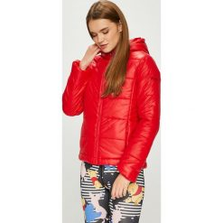 Pepe Jeans - Kurtka Candy. Różowe kurtki damskie jeansowe Pepe Jeans, l, z kapturem. Za 399,90 zł.