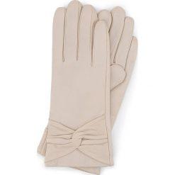 Rękawiczki damskie 39-6-572-A. Szare rękawiczki damskie Wittchen. Za 99,00 zł.