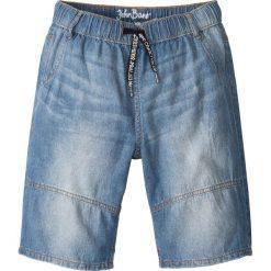 """Jeansy dziewczęce: Bermudy dżinsowe bonprix niebieski """"stone"""""""