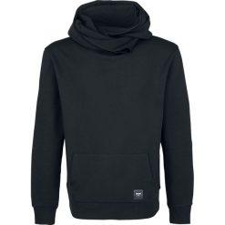 Bejsbolówki męskie: Black Premium by EMP Basic Shawl Collar Hoodie Bluza z kapturem czarny