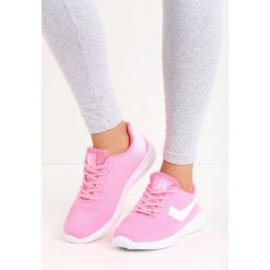 Różowe Buty Sportowe Fabulous. Czerwone buty sportowe damskie marki KALENJI, z gumy. Za 79,99 zł.