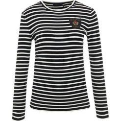 Polo Ralph Lauren Bluza black/cream. Czarne bluzy rozpinane damskie Polo Ralph Lauren, xs, z materiału. Za 839,00 zł.