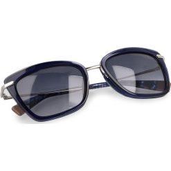 Okulary przeciwsłoneczne FURLA - Elisir 919654 D 143F REM Corteccia d. Niebieskie okulary przeciwsłoneczne damskie lenonki marki Furla. W wyprzedaży za 579,00 zł.