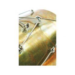 Metalowa bransoletka z mosiądzu i stali. Brązowe bransoletki damskie na nogę Projekt mosko, metalowe. Za 176,00 zł.