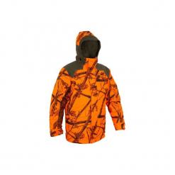 Kurtka myśliwska Sibir 900 CAMOFLUO. Brązowe kurtki męskie marki LIGNE VERNEY CARRON, m, z bawełny. Za 599,99 zł.