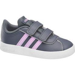 Trampki chłopięce: sneakersy dziecięce adidas Vl Court 2.0 Cmf  adidas niebieskie