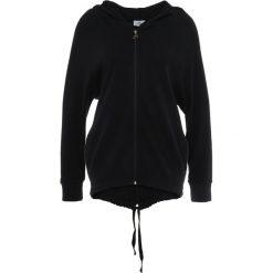 Deha FELPA Bluza rozpinana black. Czarne bluzy rozpinane damskie Deha, xs, z bawełny. Za 509,00 zł.