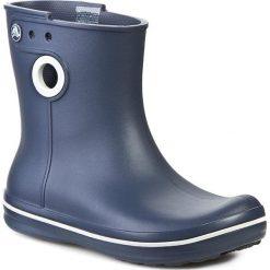 Kalosze CROCS - Jaunt Shorty Boot W 15769 Navy. Niebieskie buty zimowe damskie marki Crocs, z tworzywa sztucznego. W wyprzedaży za 159,00 zł.