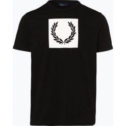 T-shirty męskie z nadrukiem: Fred Perry – T-shirt męski, czarny