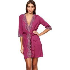 Szlafroki kimona damskie: Szlafrok w kolorze fuksji