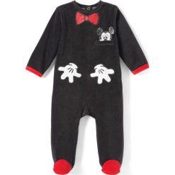 Bielizna chłopięca: Jednoczęściowa wzorzysta piżama Miki Mouse