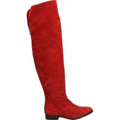 Kozaki - 2077731 GOJI. Czerwone buty zimowe damskie marki Venezia, ze skóry. Za 359,00 zł.