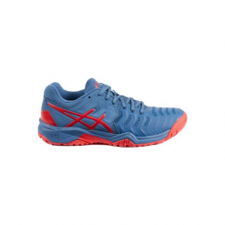 Buty tenisowe Asics Gel Resolution dla juniorów. Szare buty do tenisa męskie marki bonprix, na sznurówki. Za 229,99 zł.