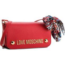 Torebka LOVE MOSCHINO - JC4126PP16LV0500 Rosso. Czerwone listonoszki damskie Love Moschino, ze skóry ekologicznej. W wyprzedaży za 459,00 zł.