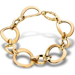 Wspaniała Złota Bransoletka - złoto żółte 585. Żółte bransoletki damskie na nogę W.KRUK, złote. Za 3690,00 zł.