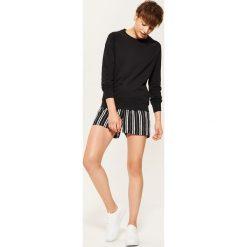Bluza basic - Czarny. Czarne bluzy damskie marki House, l. Za 49,99 zł.