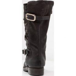 A.S.98 Kowbojki i Buty motocyklowe nero/smoke. Czarne buty zimowe damskie marki A.S.98, z materiału. W wyprzedaży za 755,40 zł.