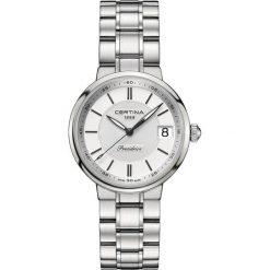 RABAT ZEGAREK CERTINA DS Stella C031.210.11.031.00. Białe zegarki damskie CERTINA, ze stali. W wyprzedaży za 1645,61 zł.