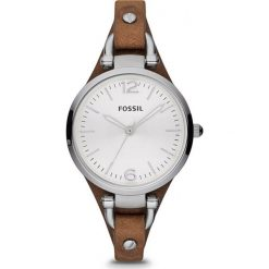 Fossil - Zegarek ES3060. Szare zegarki damskie Fossil, srebrne. Za 369,90 zł.