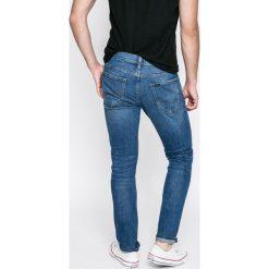 Lee - Jeansy Luke. Niebieskie jeansy męskie slim Lee, z bawełny. Za 329,90 zł.