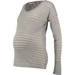 Bluzki asymetryczne: Noppies HASNA Bluzka z długim rękawem grey melange