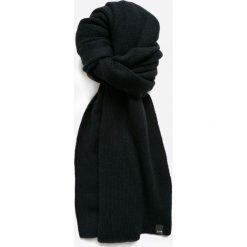 Jack & Jones - Szalik Neal. Czarne szaliki męskie marki Jack & Jones, l, z bawełny, z okrągłym kołnierzem. W wyprzedaży za 69,90 zł.