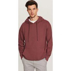 Bluza z kapturem - Fioletowy. Czarne bluzy męskie rozpinane marki Reserved, l, z kapturem. Za 89,99 zł.