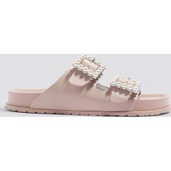 Sandały damskie: Steve Madden Sandały Luxely Flat – Pink,Nude