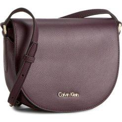 Torebka CALVIN KLEIN BLACK LABEL - K3yla Saddle Bag K60K602342 500. Czarne torebki klasyczne damskie marki Calvin Klein Black Label, z materiału. W wyprzedaży za 389,00 zł.