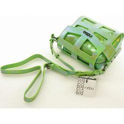 Hologramowa torebka listonoszka jasna zieleń RACHEL. Zielone listonoszki damskie marki Nobo, w paski, ze skóry ekologicznej. Za 139,00 zł.
