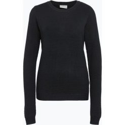 Vila - Sweter damski – Vichassa, niebieski. Niebieskie swetry klasyczne damskie Vila, l, z bawełny. Za 119,95 zł.