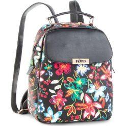 Plecak NOBO - NBAG-F0240-C020  Czarny. Czarne plecaki damskie Nobo, ze skóry ekologicznej. W wyprzedaży za 179,00 zł.