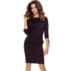 Venus wygodna sukienka dzienna CZARNA. Czarne sukienki Bergamo. Za 139,99 zł.