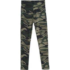 Zielone-Moro Legginsy Lately. Zielone legginsy we wzory Born2be, l. Za 29,99 zł.