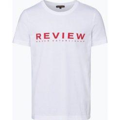 Review - T-shirt męski, czarny. Czarne t-shirty męskie z nadrukiem Review, l. Za 59,95 zł.